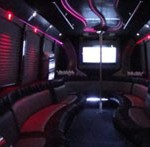 Black Party Bus Limo