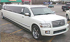 Infinity Strecth White Limousine