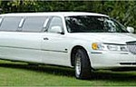 White Stretch Limousine